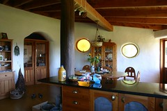 Kitchen 2 (kristi_t) Tags: newzealand otamatea ecovillage kaipara strawbale naturalbuilding earthenarchitecture house