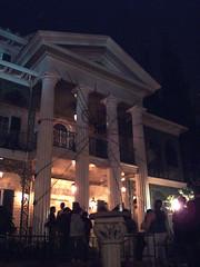 Haunted Mansion (night)