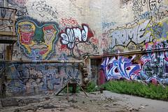 Rome, Kefr, Jenks, Penis (funkandjazz) Tags: rome kefr jenks graffiti abandoned california sanfrancisco characters ensue medik penis