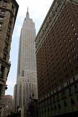 Empire State Building (Robby Edwards) Tags: nyc newyorkcity newyork skyscraper manhattan empirestatebuilding