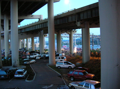 under the marquam bridge