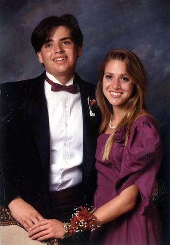Prom Photo, 1987