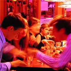 monday night @ cafe noir ([phil h]) Tags: city summer people urban paris france color colour topv111 bar 1025fav catchycolors square french interestingness cafe interesting topv555 topv333 500plus topv444 olympus fv5 topv222 bathed squareformat blogged nightlife parisist topv666 squared cafnoir utatadrinksitup