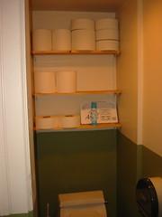 Ballet Toilet Paper Stock