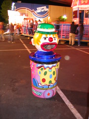 Trash can is so scary