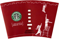 Starbucks 'Red Cup' 2005 (stocking)