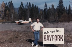 John Mayes and Mooney 84 Mike (richardcclark) Tags: 1984 chicostate hayfork californiastateuniversitychico johnmayes n9684m richardclark