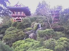 Pagoda in Japanese Gardens