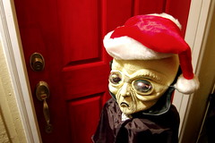 Not Santa (Rick Takagi) Tags: santa christmas xmas red d50 interestingness nikon funny holidays alien moo creepy takagi flickritis i500 nikonstunninggallery
