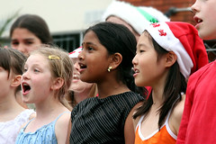 Carollers by Here's Kate on flickr