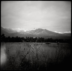 (moominsean) Tags: snappy diana 120 bw flagstaff fuyu cold mountains arizona clouds winter wind