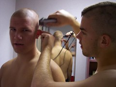 (Flatboy) Tags: haircut shaved shave bald