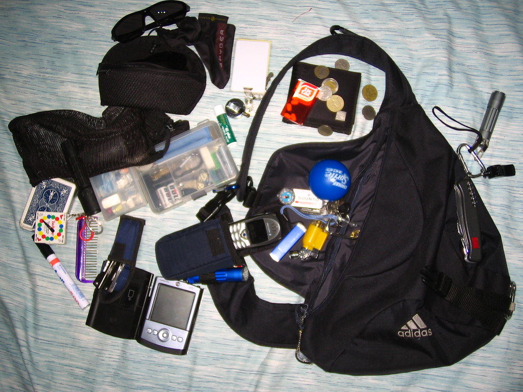 inside my everyday pack