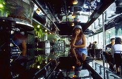 girl in the empire diner.jpg - by Bryan Ledgard