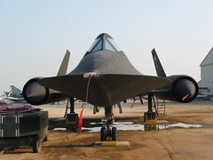 SR-71A Blackbird #975 (aussierupe) Tags: museum movie march aircraft cia military airforce usaf blackbird prop clinteastwood sr71 airmuseum spacecowboys usairforce spyplane 975 reconaissance marcharb 17975 mostint