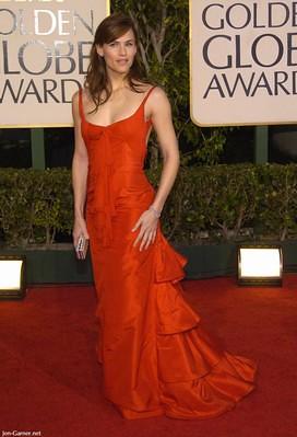 Jennifer Garner en los globos de oro