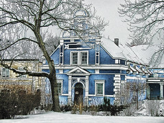winter and a fairy-tale (Cilest) Tags: blue winter white house snow ice fairytale wow austria cilest kurt someonelovesthisshot