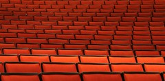 (code poet) Tags: orange topf25 beautiful topv111 hall concert lexington kentucky topv1111 topv999 100v10f seats topv topv777 bleachers singletarycenter 333topv555