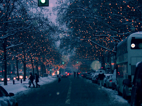 Christmas lights in berlin / ashkey