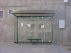 Discovering Lechago: the bus stop (David Domingo) Tags: lechago teruel terol aragn arag aragon espaa espanya spain europe europa busstop bus