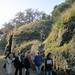 walking through the Cerveteri site