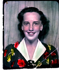 My Mother: Sweet 16 (1938) (musicmuse_ca) Tags: family portrait bw color topv111 1025fav 510fav mom interestingness photobooth jean montreal topc50 1938 handtinted myfolks recolored interestingness93 i500