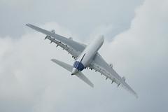 Airbus A380 at Farnborough - by Merlin_1