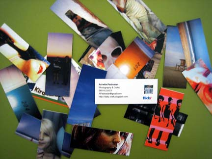 My Moo Cards
