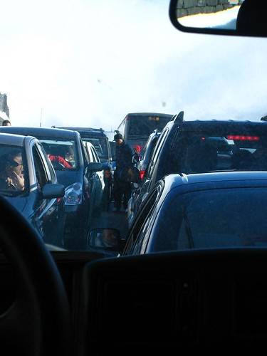 Holiday Traffic Fun on Etna