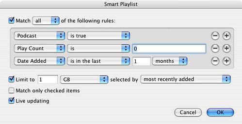SyncTunes SmartPlaylist