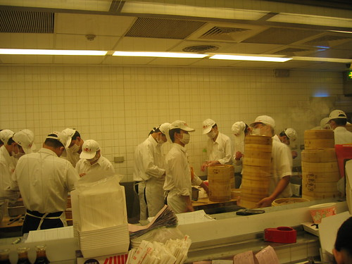 Making Dumplings at Din Tai Fung