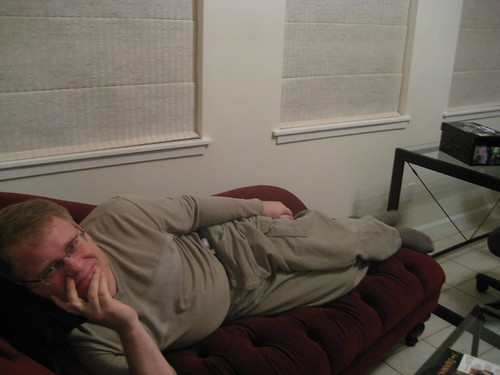 Scoble on Red Casting Couch