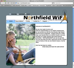 Northfield Wifi Screenshot