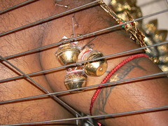 With bells on (2 of 2) (amateur_photo_bore) Tags: art festival bells religious singapore skin body religion spoke piercing procession hook hindu tamil skewer thaipusam 2007 subramanian kumaran swaminathan vetrivel saravanan velan guhan lordmurugan kartikeyan kandan balamurugan thirumurugan velayudhan neatorama taipusam lordmuraga azhagan arumugan balasubramanian dhandayudhapani gangeyan kadamban kuravimanavaalan kathirvelan muthukumaran mayavanmarugan mayuresan mayilon palaniappan padayappan rathnavel shanmugan senniappan skandan senthilkumaran thangavel thagappanswami vajravel vadivelan velavan veeravel
