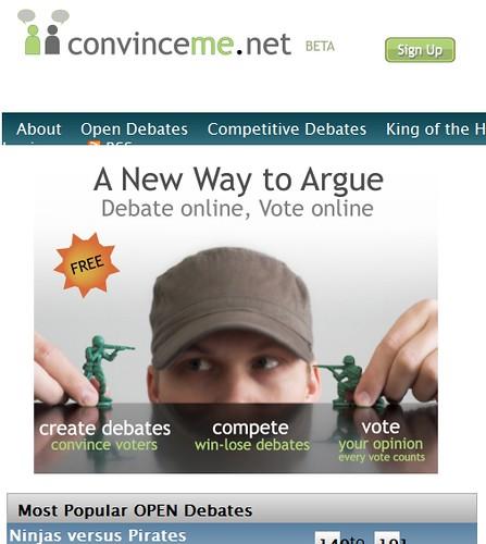 Convince Me - Debate Online
