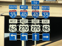 Which way? (Jason B.) Tags: highway freeway interstate okc s3 oklahomacity i35 i40 2007 us62 us270