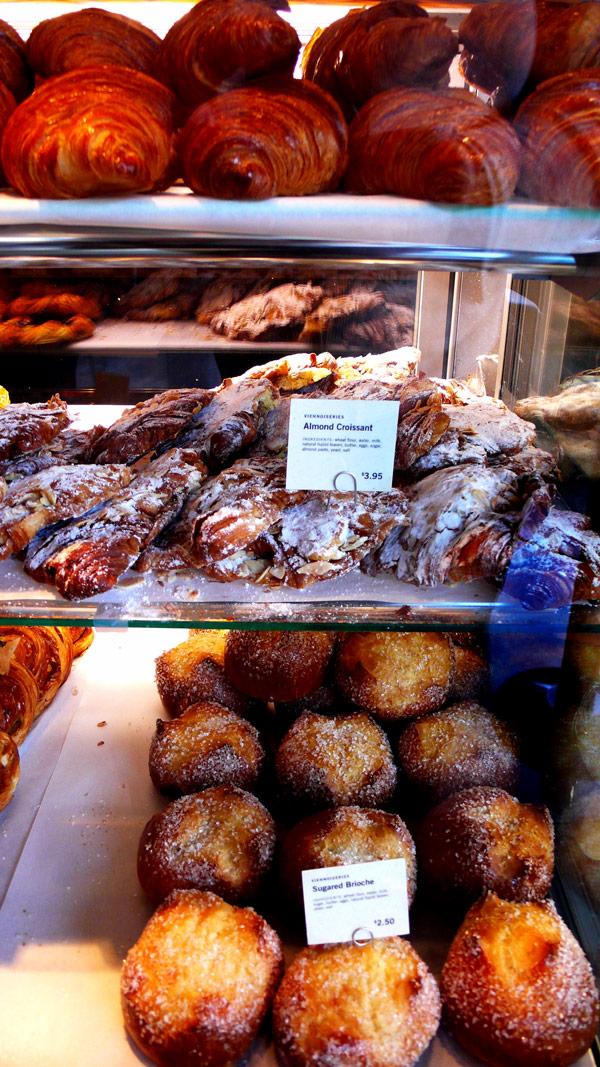 breadbar almond croissant