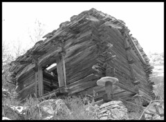 Raccard in Mase (biollaz) Tags: old winter house snow mountains stone switzerland suisse stones wallis beau beautifull valais cailloux curiosit mase raccard abigfave