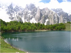 Just another lake... (Ahmad A Karim) Tags: las pakistan trekking lums karakorams theadventuringelf haramosh kutwallake ultimateshot