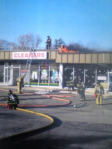 Framing Avenue Fire