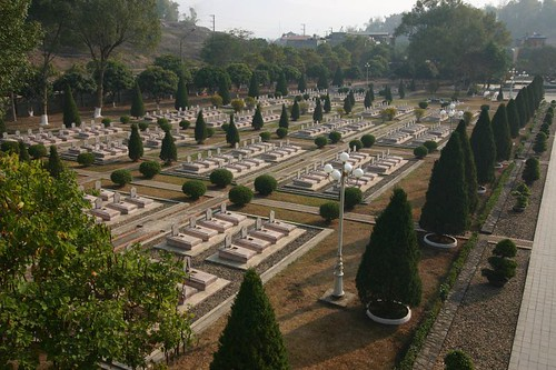 Dien Bien Phu Cemetary where approx. 3000 Vietnamese are buried after the fightings with the French in 1954...