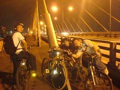 บนสะพานพระราม 8