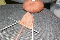 punta de calcetin silueta