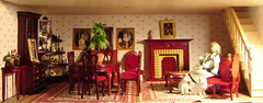 The parlour (Anna Amnell) Tags: fireplace parlour dollhouse takka dollshouse sali nukkekoti nukketalo
