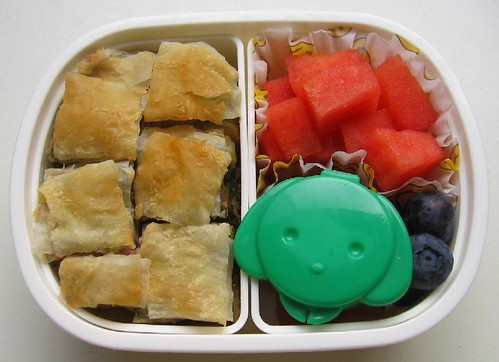 Bourek lunch for toddler お弁当