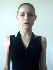 Buzzed (wren_trixie) Tags: haircut girl female shaved brunette buzzcut ...  Buzzed