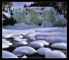 Silent Yet Massive (NY Longbow) Tags: winter snow ice river waterfall salmon explore orton interestingness136 abigfave