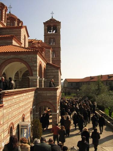 Greek Orthodox church near Mesia, Greece