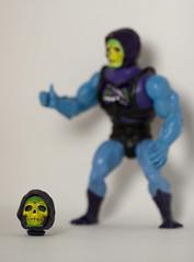 Skeletor (Bradley Fry) Tags: blue portrait green toy actionfigure skull dof head canon20d cartoon depthoffield canon100mmf28macro 1980 motu heman skeletor mastersoftheuniverse battlearmorskeletor