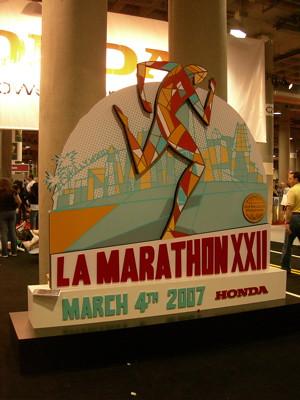 2007 LA Marathon Logo